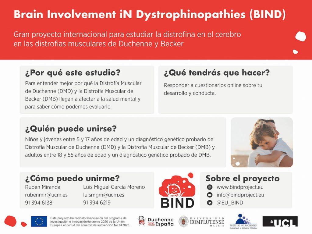 España es la primera en abrir un estudio para investigar la DMD / DMB y la salud mental